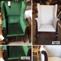 <h5>Unique Wingback</h5>
