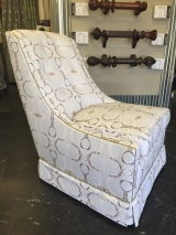 <h5>Artful Armless Chair</h5>