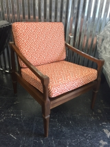 <h5>Orange Maze Box Chair</h5>