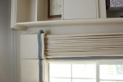 <h5>Boxed Valance & Banded Draperies</h5>