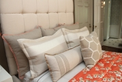 <h5>Custom Bed, Pillows & Quilt</h5>