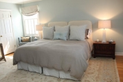 <h5>Custom Bedding & Headboards</h5>