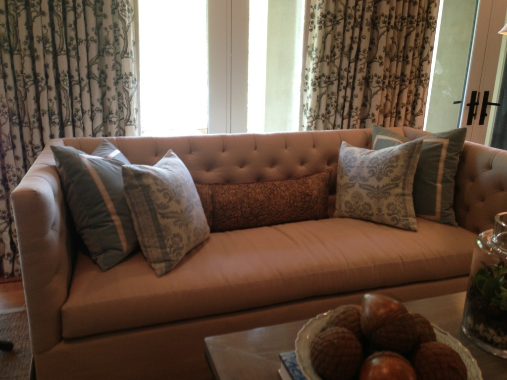 But The Straight Line Tufted Sofa Was Also A Thing Of Beauty