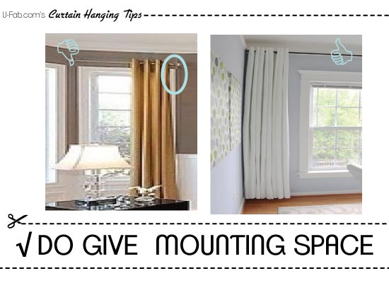 To Give Yourself A Truly Finished And Custom Look, Allow For A Return On  The Outside Edges Of Your Windows. A Return Is Where The Fabric Comes  Around The ...