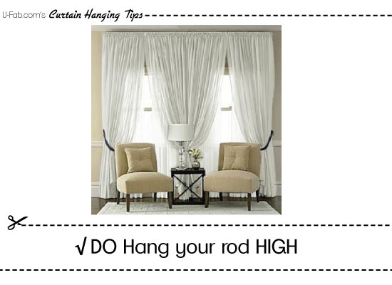 faq – how to hang window treatments?
