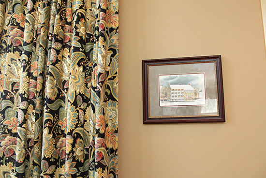Nightsky Rich Floral Drapes