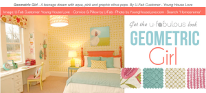 Ufabulous Design Room: Geometric Girl