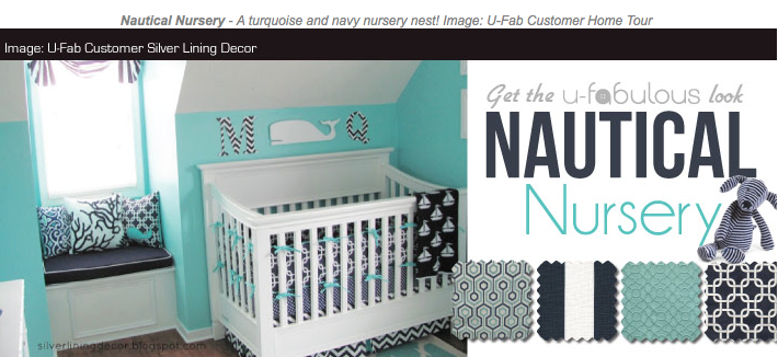 Ufabulous Design Room: Nautical Nursery