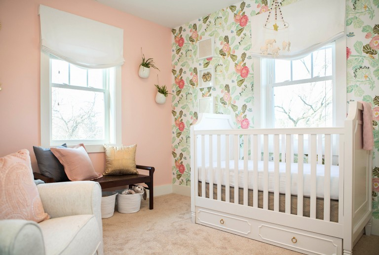 U-Fabulous Room Tour: Nest Nursery Makeover